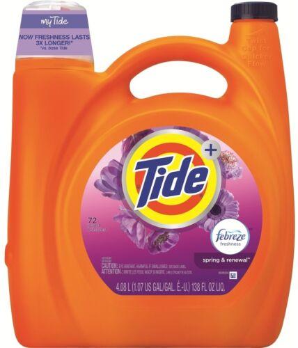 Tide 138-fl oz Febreze Freshness Spring and Renewal Laundry