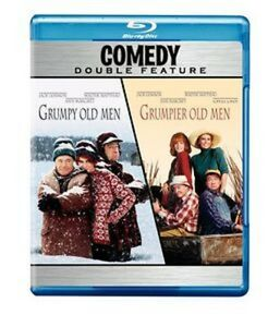 GRUMPY OLD MEN / GRUMPIER OLD MEN  -  Blu Ray - Sealed Region free for UK