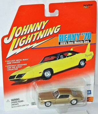 2001 Johnny Lightning HEAVY '70 1970 CHEVY CAMARO RS 1970's Best Muscle (Best 1970s Muscle Cars)