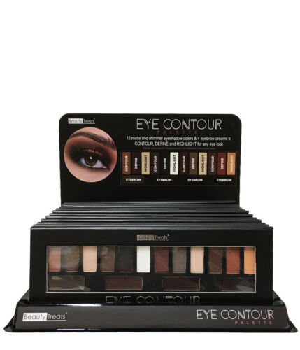 Beauty Treats Eye Contour Palette 12 Matte Shimmer Eyeshadow