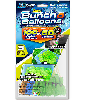 A Bunch OF Balloons 100 Self-Sealing Water Ballons - Water Ballons