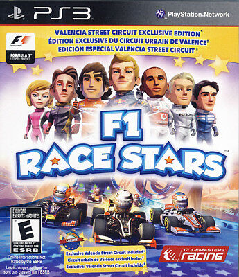 F1 RACE STARS - VALENCIA STREET CIRCUIT EDITION (TRILINGUAL COVER (PLAYSTATION3) for sale  Canada