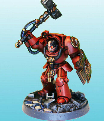 Blood Angels Captain: Brother Aramus - Fully Painted - Ready to Ship! 4 Charity!
