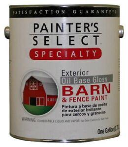 True value 1gallon barn red oil base gloss barn fence for Oil based fence paint