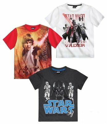 Star Wars Kinder kurzarm T-Shirt Gr. 116-152 Pullover Set B Shirt kurzarm (Star Wars Kinder T Shirts)