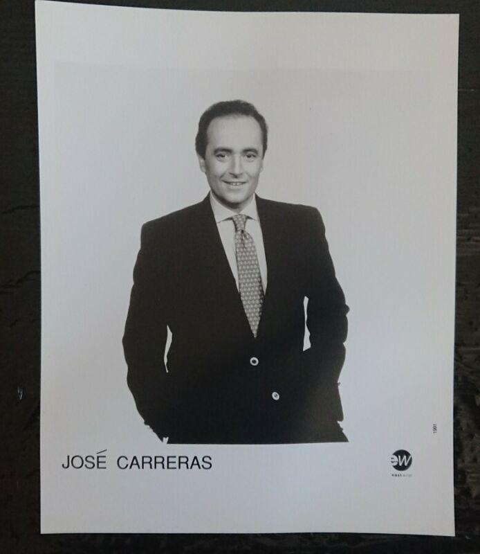 OPERA SINGER Jose carreras. Original press release photo 10x8