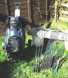 Full Set of Clubs,Bag, and Trolley