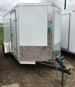 2017 Cross Trailers Alpha 6x12  Enclosed Cargo Trailer