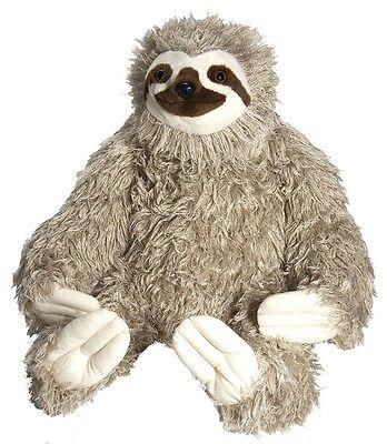 Giant Jumbo Stuffed Three Toed Sloth   Wild Republic   30    Brand New    17379