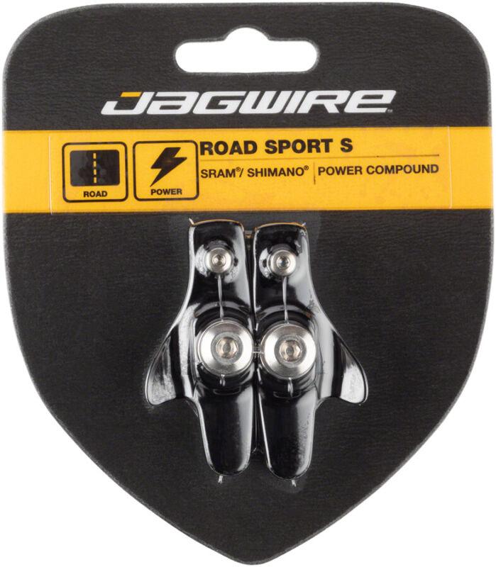 Jagwire Road Sport S Brake Pads SRAM Shimano Replaceable Pad Insert Black