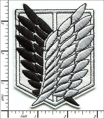 (10 Pcs Embroidered Iron on patche Angel Wing Black/White Jesus 6.9x9cm AP058bB)
