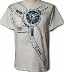 Airplane and Locomotive T-shirts