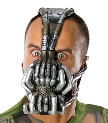 DARK KNIGHT RISES ADULT Villain Heroes Party Halloween (Dark Knight Rises Bane Halloween-maske)