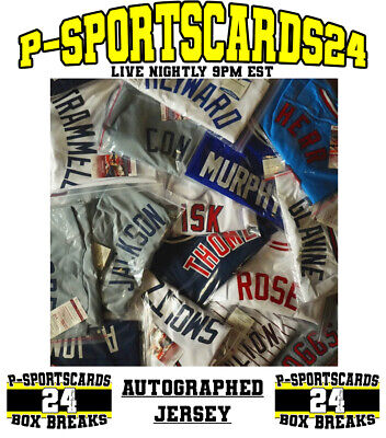 2020 AUTOGRAPH BASEBALL JERSEY MLB LIVE BOX BREAK #3573 | 1 RANDOM TEAM