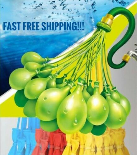 444 Self-Sealing Water Balloons (4 Packs) Instant Bunch O Style Easy Fill