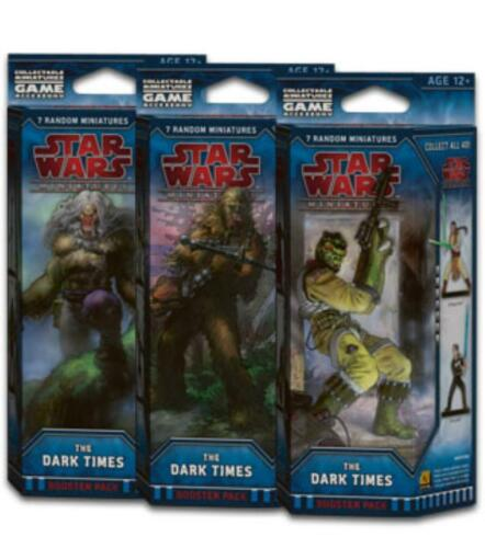 Star Wars Miniatures Dark Times Booster Pack Brand New