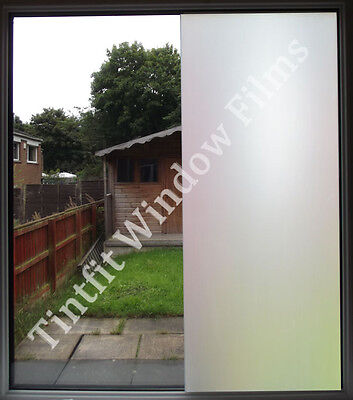 white frost privacy frosted window film matte opal etch tinting tint glass vinyl - Frosted Window Film