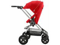 Stokke Scoot V2 Pushchair - Red including footmuff