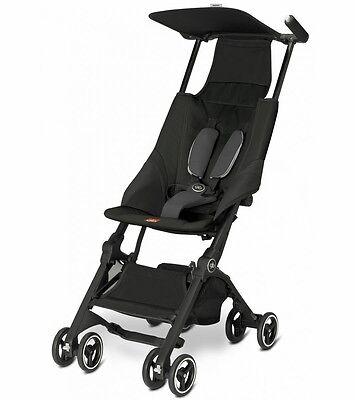 Goodbaby GB Pockit Compact Stroller Black Folds Smaller than Nano New Open Box!!