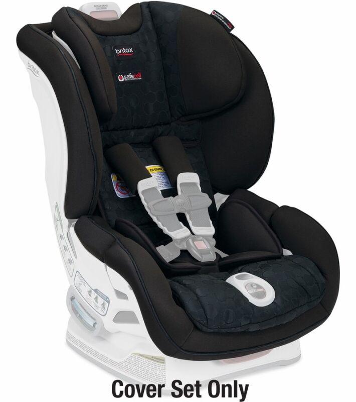 Britax Boulevard Click Tight Convertible Car Seat Cover Set - Circa New Free Shp