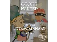 Cafe Cook for Member's Club