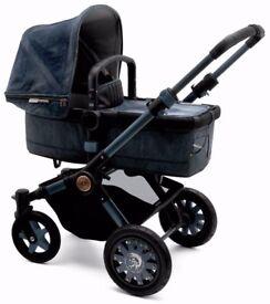 NEW Bugaboo Buffalo Limited Edition DIESEL Denim Pushchair