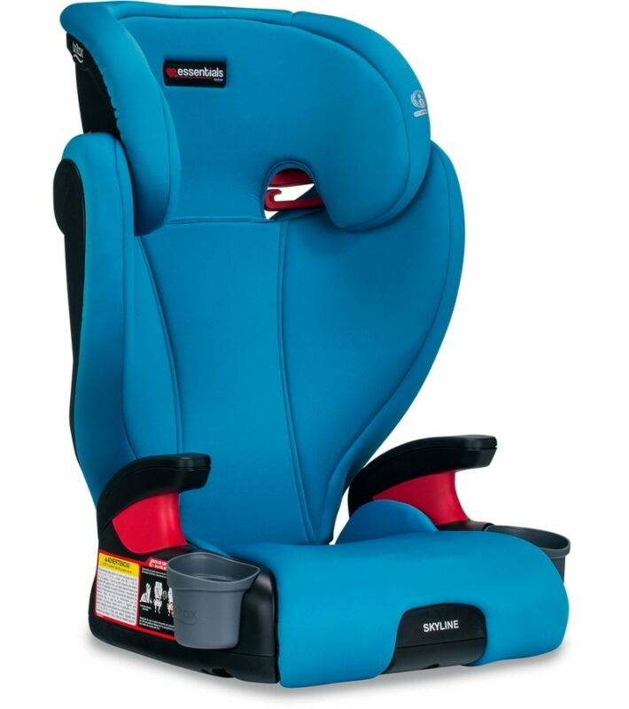 Britax Essential Skyline Booster Car Seat in Teal Brand New Free Shipping !!