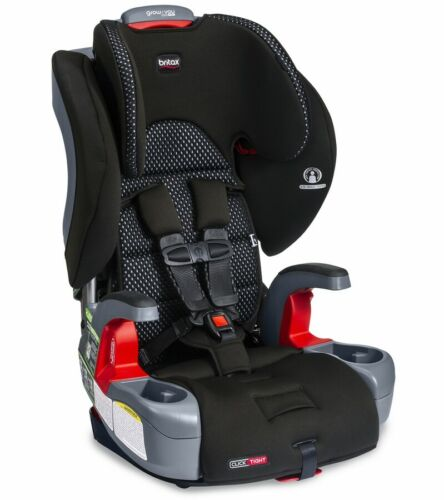 Britax Grow With You Clicktight Harness Booster Car Seat Cool Flow Gray 2021