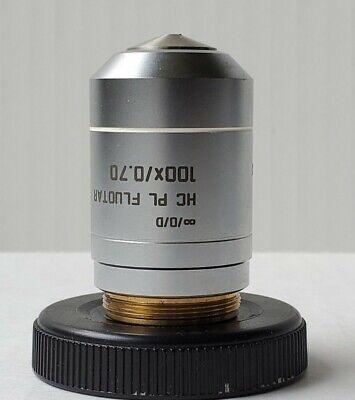 Leica Hc Pl Fluotar 100x 0.70 Microscope Objective 101199