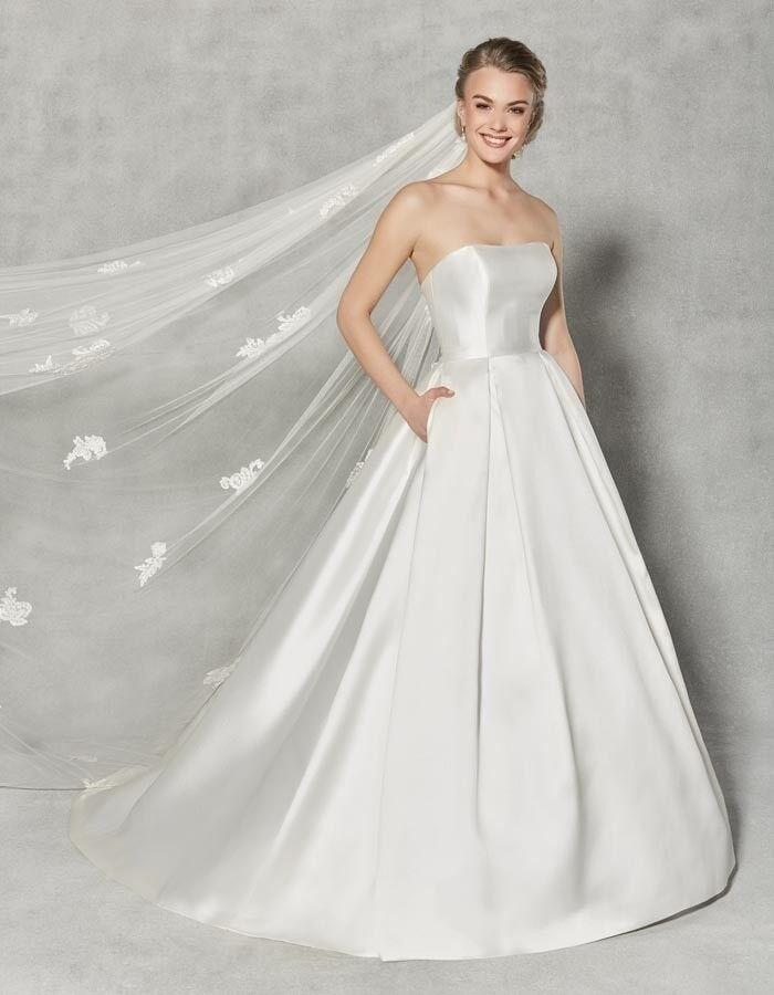 Anna Sorrano ivory wedding dress, size 12, the Austen   in Falkirk ...