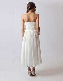 Tea Length Wedding Dress 16-18