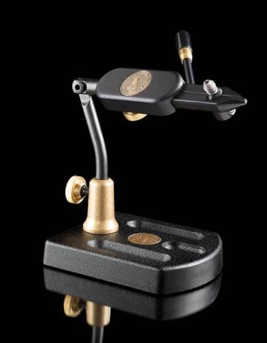 REGAL TRAVEL FLY TYING VISE. NEW IN PACKAGE. MADE IN THE USA. ALUMINUM BASE.