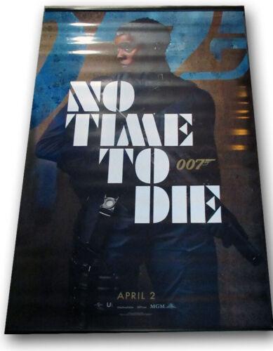 "No Time To Die ORIGINAL BANNER Daniel Craig James Bond 007 ""Lynch"" 5 x 8 foot!!"