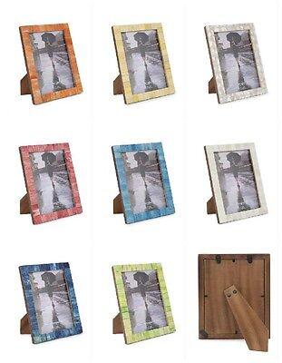Photo Frame Handmade Buffalo Bone Vintage Chic Picture Frames For 4x6 & 5x7 Size - Vintage Photo Frame