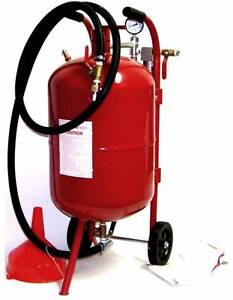 10 GALLON PORTABLE SANDBLASTER UNIT - Sale Oak Park Moreland Area Preview