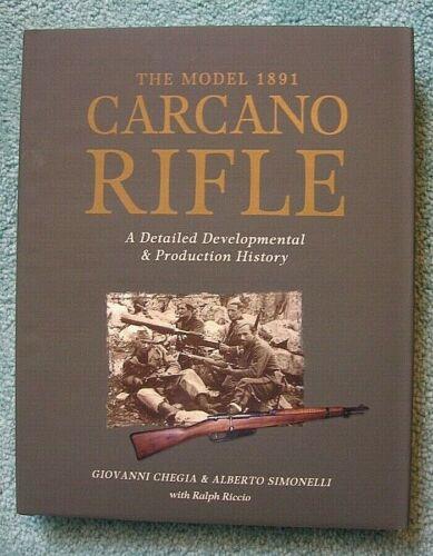 CARCANO RIFLES - Chegia & Simonelli (Superbly Done) *BRAND NEW BOOKS*