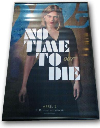 "No Time To Die ORIGINAL BANNER Daniel Craig James Bond 007 ""Lea"" 5 x 8 foot!!"