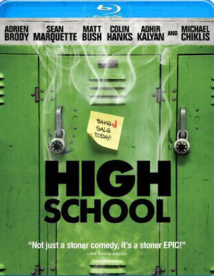 HIGH School blu-ray **Brand New without the Shrink Wrap**