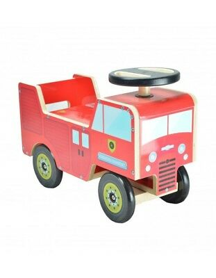 Carrier KIDDIMOTO Firefighter Truck trotter plaything game boy's baby red