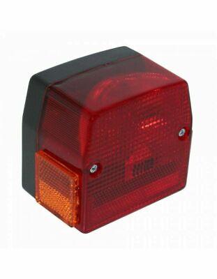 Feu arrière cyclo adaptable PEUGEOT 103 SPX RCX MBK 51s rouge NEUF