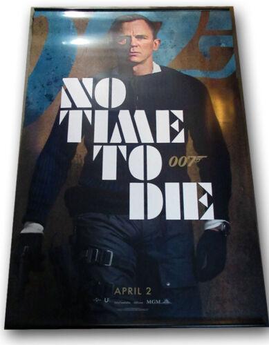 "No Time To Die ORIGINAL BANNER Daniel Craig James Bond 007 ""Daniel"" 5 x 8 foot!!"