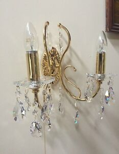 Elegance Double Asfour Crystal Wall Light Faulconbridge Blue Mountains Preview