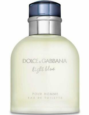 Dolce & Gabbana Light Blue edt 4.2 oz Cologne for men NEW tester with cap