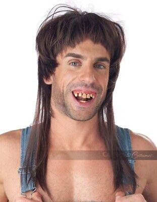 California Costumes Hillbilly Heartthrob Wig and Teeth Mens Halloween 70958 (Hillbilly Teeth Halloween)