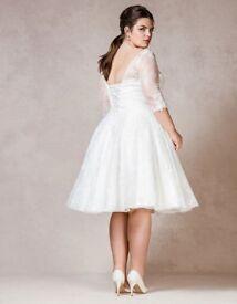 Wedding Dress White Size 22 Wed2Be - Rosabel