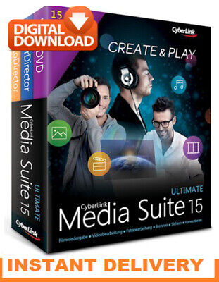 ✅New CyberLink Media Suite Ultimate 15 🔥Activated Software 2020 Full Package 🔥