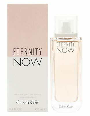 ETERNITY NOW by Calvin Klein for women perfume 3.4 oz 3.3 edp New in Box