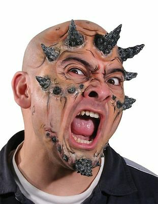 WOOCHIE SPIKED HORNS MUTANT MONSTER LATEX PROSTHETIC COSTUME MAKEUP CSWO339 - Woochie Prosthetics