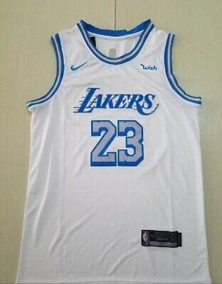LEBRON CAMISETA DE LA NBA DE LOS LAKERS BLANCA.TALLA S,L,XL,2XL.