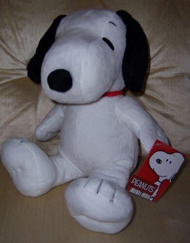 "Snoopy Velvet & Velour Soft & Huggable Medium Plush 13"" Tall New with Tags"